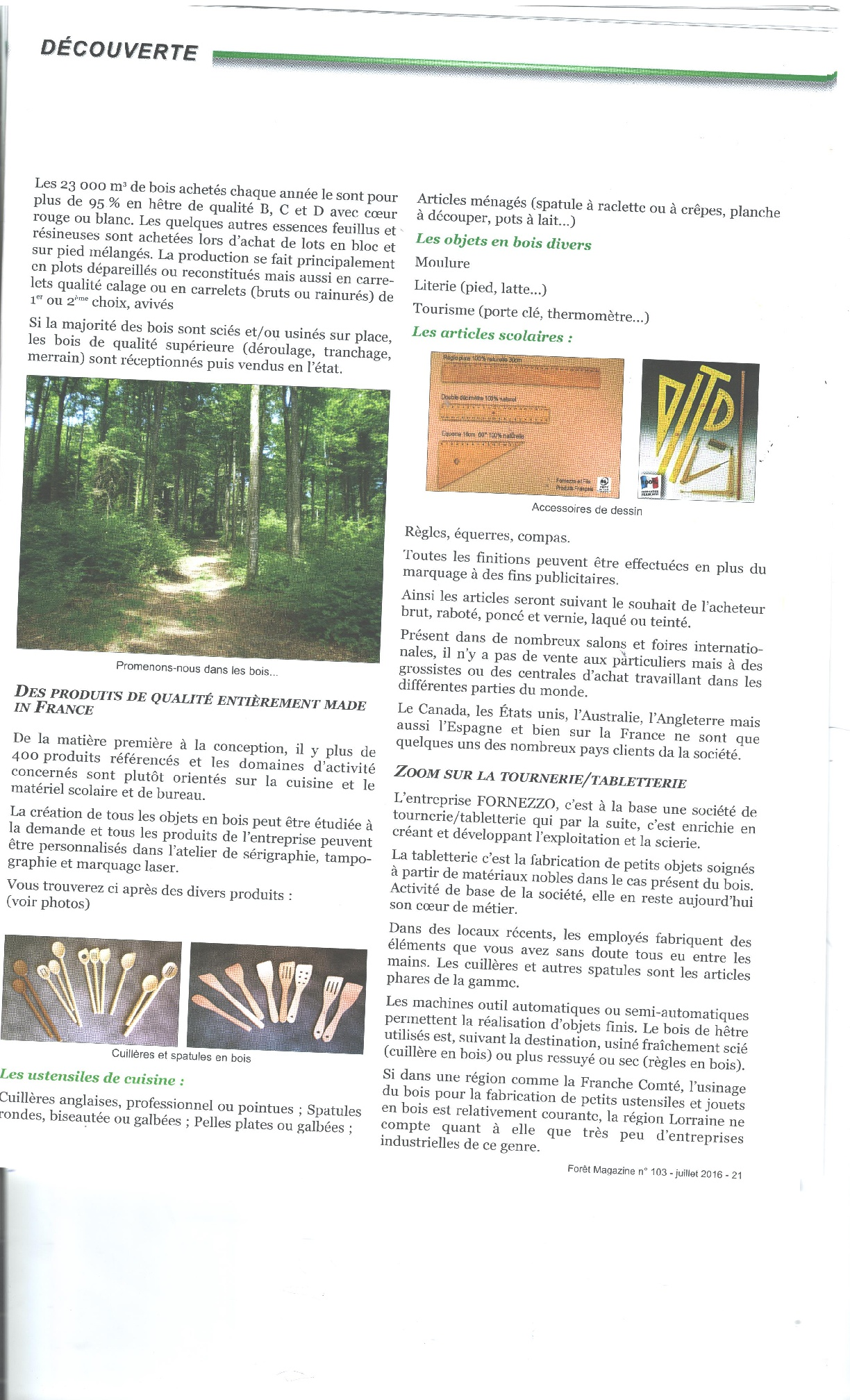 Foret magazine p2