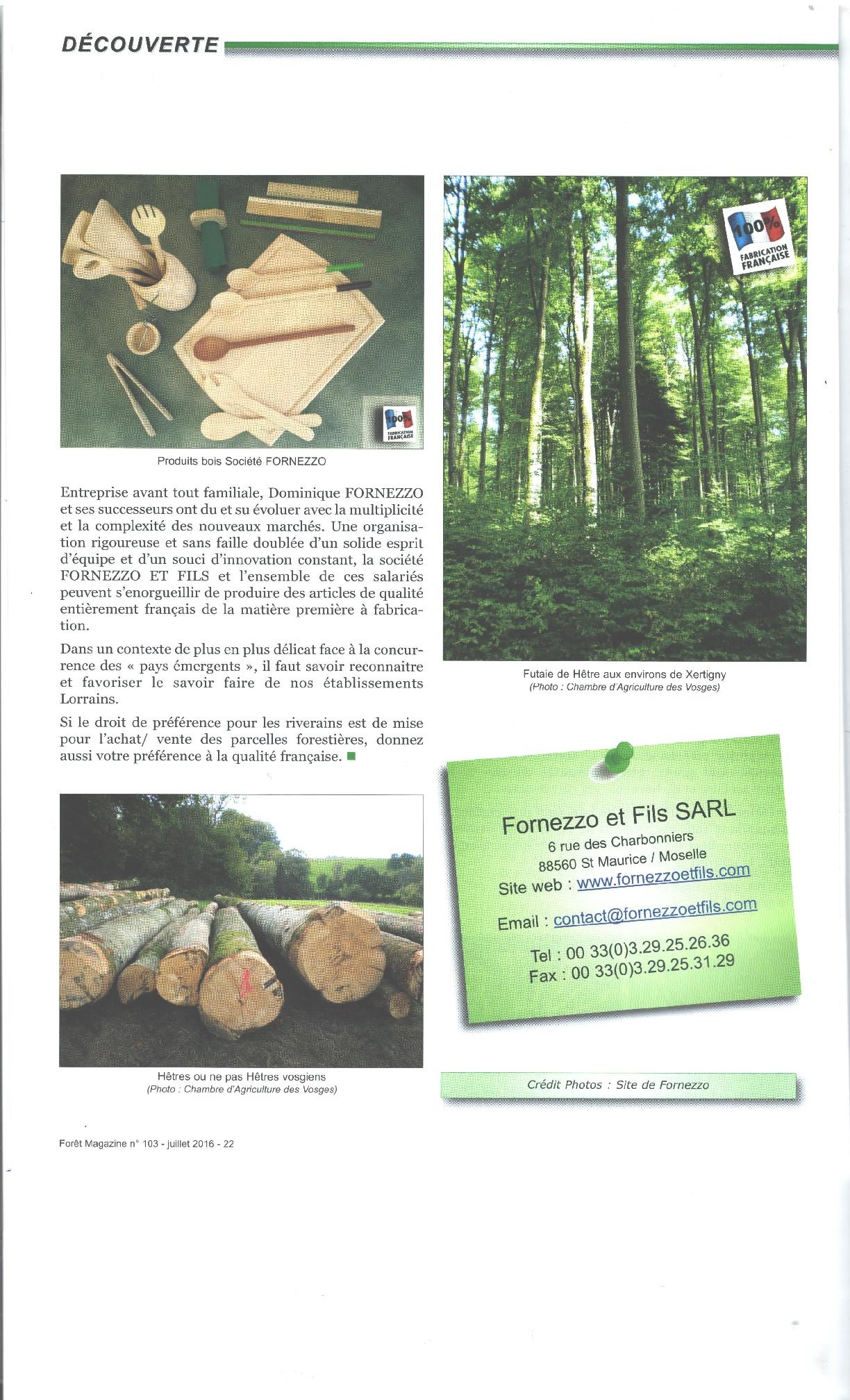Foret magazine p3