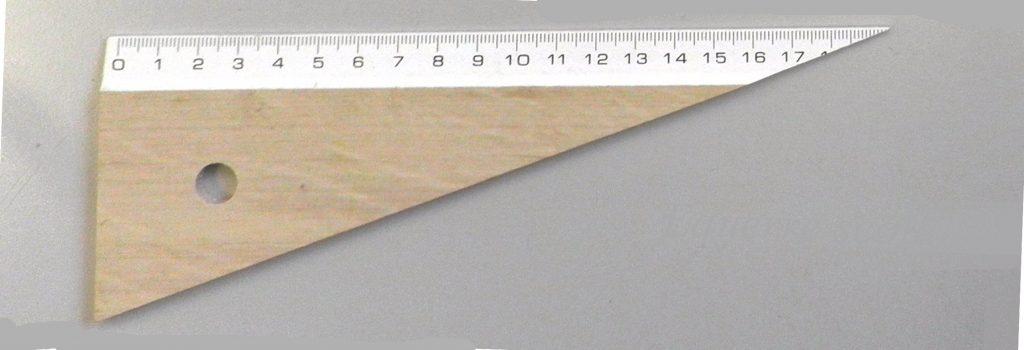 Equerre biseau 20 cm