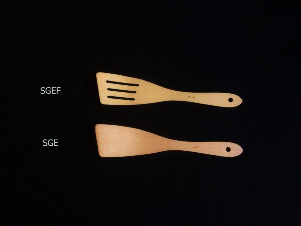 Les spatules étroites