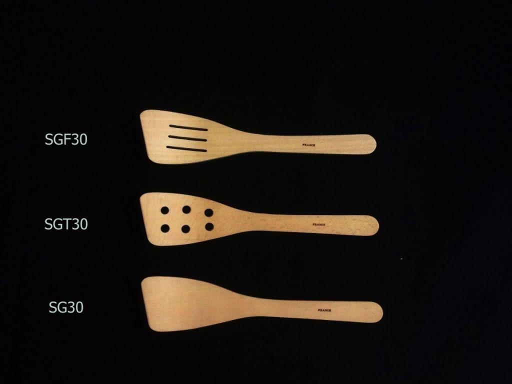 Les spatules galbées